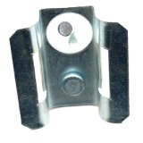 Pole Bracket for FTTH Cables Stainless Steel Material