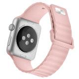 Reloj Pulsera Correa de sustitución de la manzana de la banda de silicona Iwatch