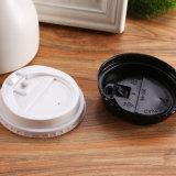 Résistant à chaud PS plastique de haute qualité des tasses à café avec couvercle
