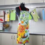 Baumwoltwill-Gewebe-Frauen-Entwurfs-Küche-Schutzblech für das Kochen