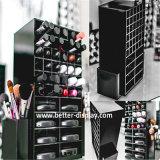 Organisator van Make-up 360 van de douane de Acryl Roterende