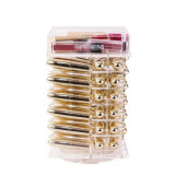 Organizzatore acrilico lucido di filatura di trucco del rossetto personalizzato fornitore della Cina