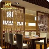 مطعم [دوكرتيف] ليزر قطعة ألومنيوم جدار حاجز لوح