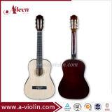 "[Winzz] 34"" Linden Top Maple Pescoço guitarra clássica por grosso"