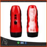 Vagina artificial recarregável do USB dos Masturbators masculinos elétricos que vibra o bichano realístico da menina