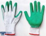 Advanced нитриловые перчатки с покрытием из латекса и опускания машины