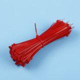 7.6X200mm rote selbstsichernde Nylonkabelbinder