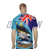 L'impression sublimée par équipe de créateurs initiale folâtre les T-shirts (T005)