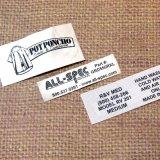 De Etiketten van het Pakket van het Embleem van de Handdoek van de Sporten van de Druk van de douane