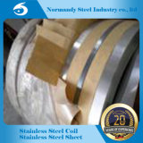 Tira inoxidable en frío del acero inoxidable Steel/202 para el material de construcción