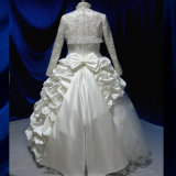 Luxuxballkleid-lange Hülsen-moslemisches Brauthochzeits-Kleid