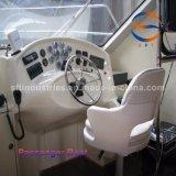 taxi 40p del agua del 14.28m China con la carrocería del barco de la fibra de vidrio