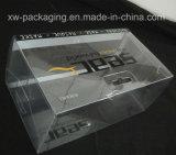 Boîte en plastique claire de pliage pour les produits électroniques