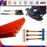 Sicheres flexibles elektrisches kupfernes Leiter-Schienen-Kran-Hauptleitungsträger-System
