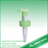 Distributeur de pompe de lotion de pression de collet du blanc 33mm