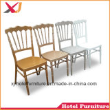 Silla del acero de los muebles del comedor/de aluminio de Chiavari para el banquete/el hotel/la boda