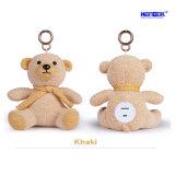 Mini jouet portatif d'ours de nounours de peluche de la musique Elf-01