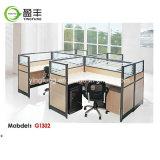 우수한 인간 환경 공학 나무로 되는 사무용 가구 모듈 책상 Yf-G1203