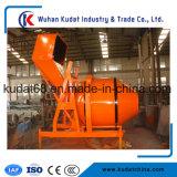 350L elektrische Concrete Mixer met Hydraulische Tippende Vultrechter