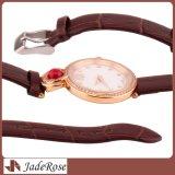 Señora de gama alta Quartz Watches del acero inoxidable de la manera