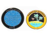 Logo personnalisé ou un modèle de promotion côtés Mulitcolor Pièces de monnaie unique