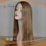 人間の毛髪のまっすぐなかつら(PPG-l-0485)