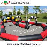 El uso comercial de deportes de pista de carreras de inflables para niños