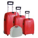 Bubuleの圧延旅行荷物袋は装飾的なボックスVl412が付いている熱い販売3の部分PPのトロリースーツケースをセットする