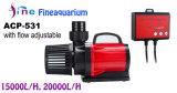 15000 L/H Potente bomba de agua del acuario de CA con el flujo ajustable