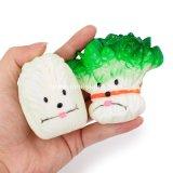 Gummihaustier-zusätzliches quietschendes Hundespielzeug-Gemüse