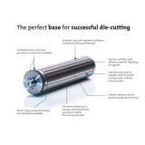 Cilindro magnético del precio bajo con la rueda de Geer para cortar con tintas flexible