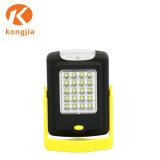 La luz de trabajo magnético LED portátil con gancho colgante