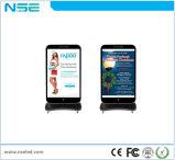 P5 plancher haute résolution LED de signalisation numérique interactif permanent affichage publicitaire