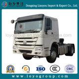 반 트레일러를 위한 Sinotruk HOWO 371HP 4X2 트랙터 트럭