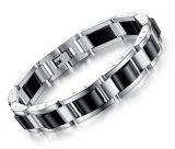 Energia curativa dell'ematite dei braccialetti dei braccialetti dei monili degli uomini di misura adattabile