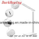 Lâmpada de tabela sem fio do diodo emissor de luz do carregador sem estroboscópio