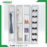 3 armarios del acoplamiento de alambre de acero de las gradas para los zapatos