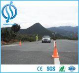Rote ABS faltender Verkehrssicherheit-Plastikkegel