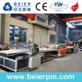 Schaumgummi-Blatt Belüftung-WPC/Vorstand-Strangpresßling-Zeile/Plastikextruder-Maschine