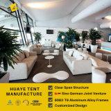 Tente allemande de pont de Tripple de qualité pour le club de golf avec les pleins murs en verre (P1 HML)