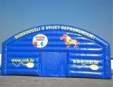 Раздувной шатер выполненный на заказ с печатание логоса (K5031)