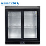 Refrigerador do Showcase do refrigerador do carrinho de indicador