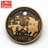 Promoción de manufactura de Oro de la producción estadounidense de Metal dólar moneda réplica colectiva