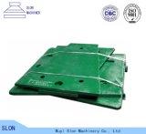 Desgaste - placa resistente de la quijada de Toogle de los recambios de la trituradora de quijada de Nordberg Metso C106 de la calidad