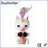 장난감 괴뢰 작은 물고기 아기 Unicorn (XH-FL-002)가 새로운 대화식 핑거에 의하여 농담을 한다