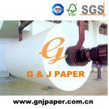 papel térmico de Rolls da largura do rolo do tamanho de 405-1035mm grande para a venda