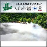 정원에 있는 녹색 Outdoor Landscape Artificial Fog Fountain
