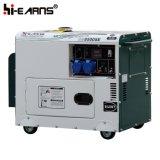 Luftgekühlter leiser Typ einzelner Zylinder-Dieselgenerator-einphasiges (DG4500SE)