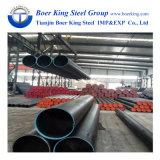 ASTM A106 Gr. B Tubo de aço carbono sem costura preta