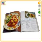 Service d'impression Softcover élevé de livre de cuisine de Qaulity